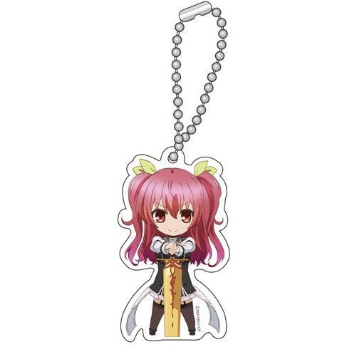 Chivalry of a Failed Knight Chibi Chara Key Chain B: Stella Vermillion