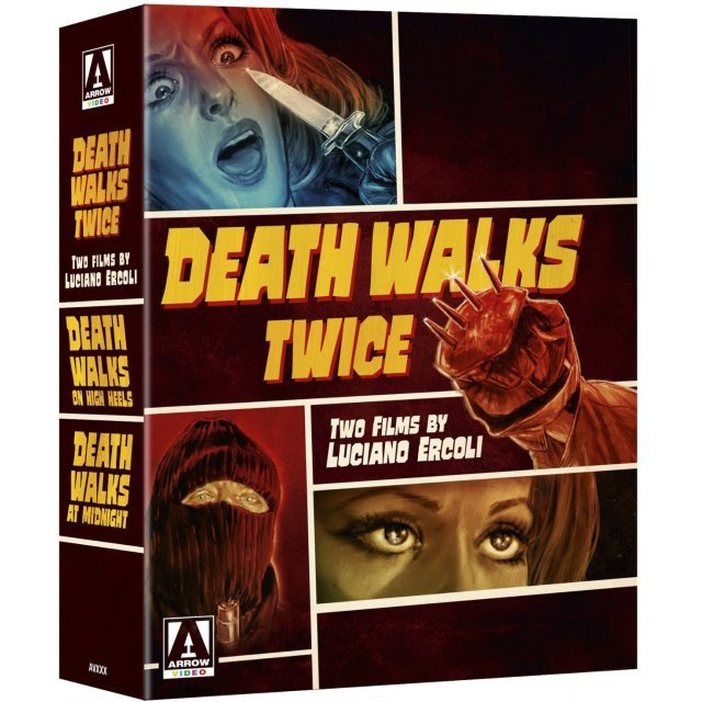 Death Walks Twice: Two Films By Luciano Ercoli (Limited Edition)