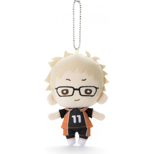 Nitotan Haikyu!! Second Season Plush with Ball Chain: Tsukishima (Re-run)