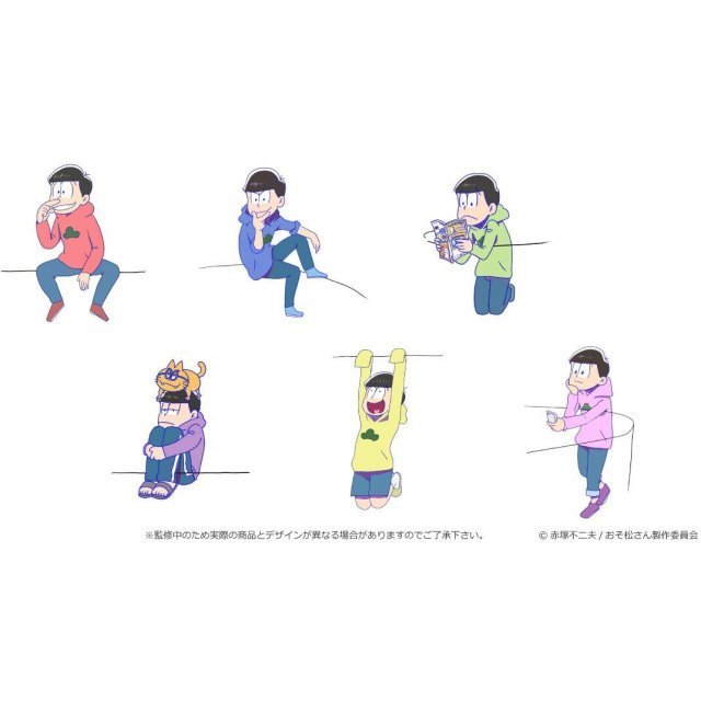 PUTITTO Osomatsu-san (Set of 12 pieces)