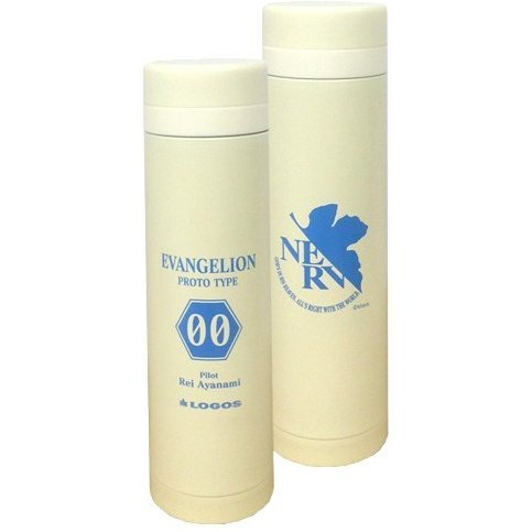 Rebuild of Evangelion Eva & Logos Eco My Slim Bottle: Pilot Ver. Rei 00