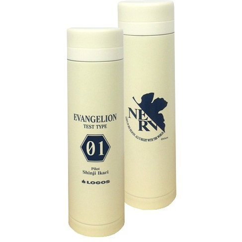 Rebuild of Evangelion Eva & Logos Eco My Slim Bottle: Pilot Ver. Shinji 01