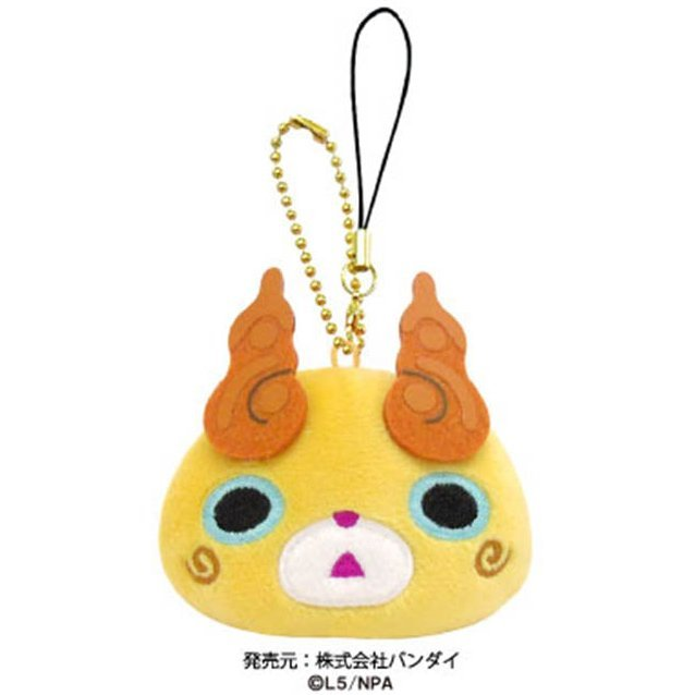 Youkai Watch Punitto Mascot with Cleaner: Komajiro