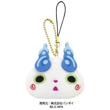 Youkai Watch Punitto Mascot with Cleaner: Koma-san