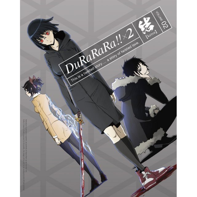 Durarara!!x2 Ketsu Vol.2 [DVD+CD Limited Edition]