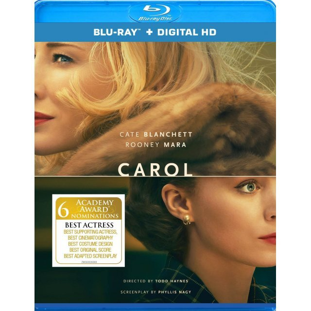 Carol [Blu-ray+Digital HD]