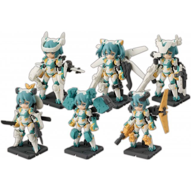 Desktop Army B-101s Sylphy Series (Set of 6 pieces) (Re-run)
