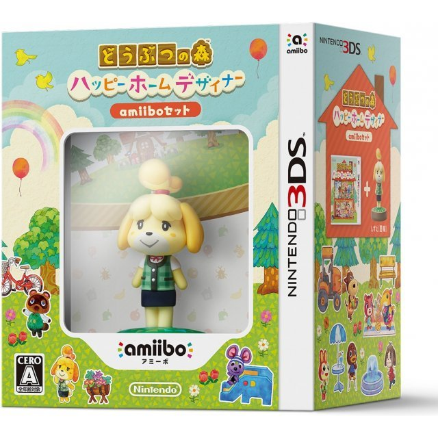 Doubutsu no Mori: Happy Home Designer [amiibo Set]