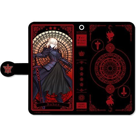 Fate/Grand Order Book Type Smartphone Case: Saber / Artoria Pendragon Alter