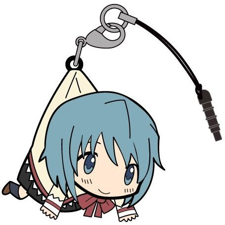Puella Magi Madoka Magica The Movie Part 3 Rebellion Tsumamare Strap: Miki Sayaka School Uniform Ver.