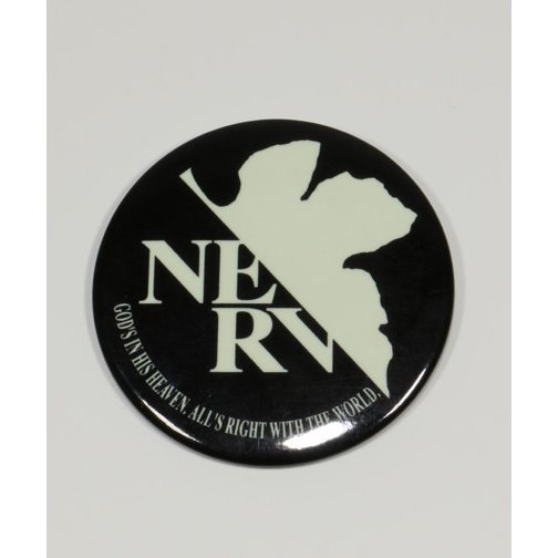 Rebuild of Evangelion Can Badge High Luminous NERV: B