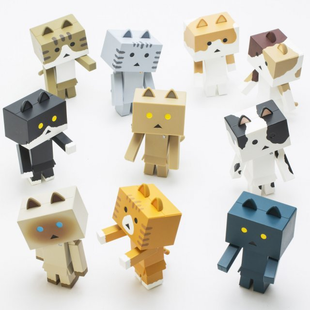 Yotsuba&!: Nyanboard Figure Collection 2 (Set of 10 pieces)