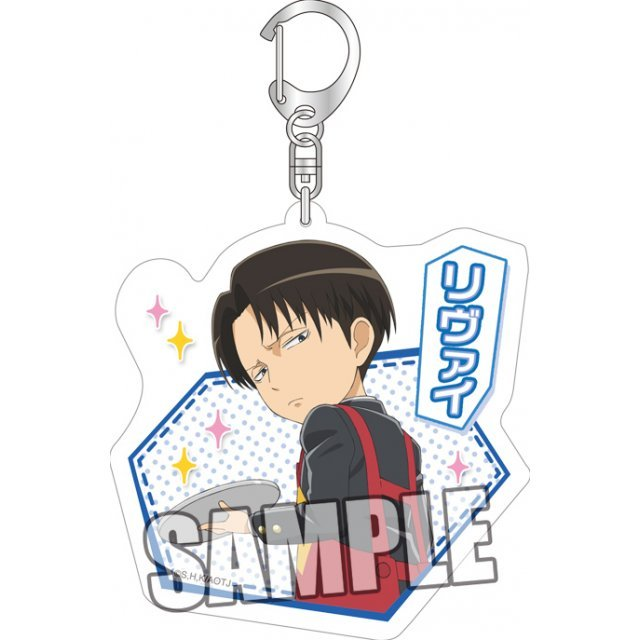 Attack on Titan Junior High Acrylic Key Chain: Levi