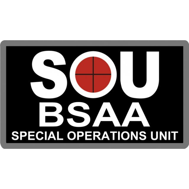 BIOHAZARD Embroidery Patch: BSAA SOU