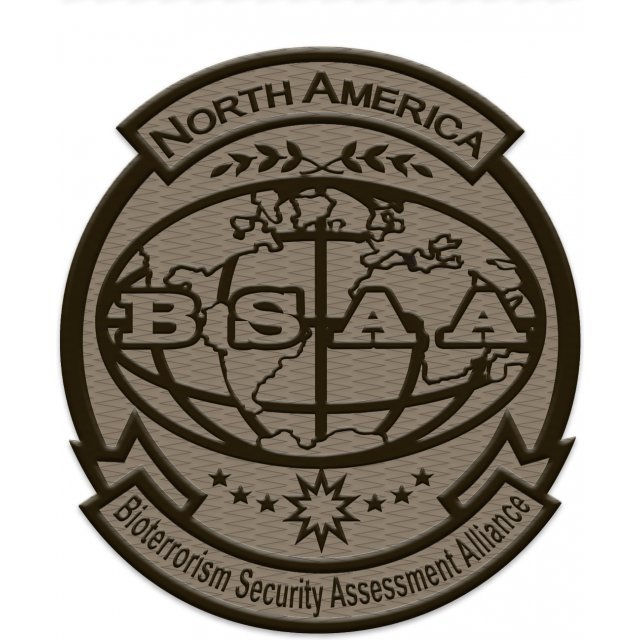 BIOHAZARD Embroidery/Khaki Patch: BSAA