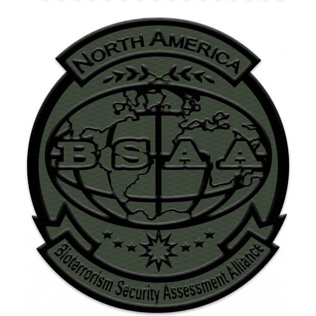 BIOHAZARD Embroidery/OD Patch: BSAA