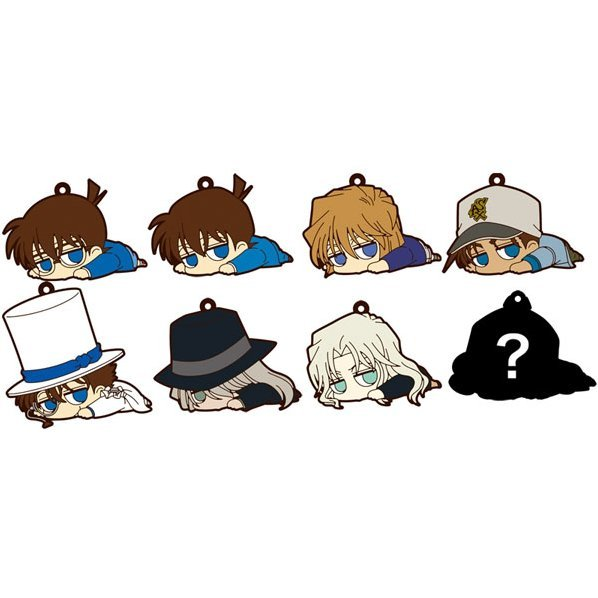 Detective Conan Darun Rubber Strap Collection (Set of 8 pieces)