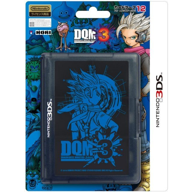 Dragon Quest Monsters: Joker 3 Card Case 12 for 3DS
