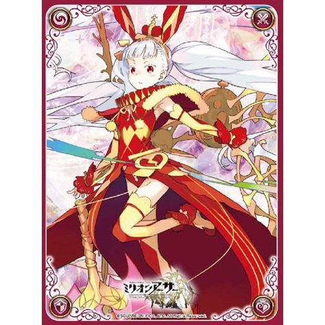 Million Arthur TCG Official Card Sleeve: Matatakeru Shichisaikou Complex Type Uasaha