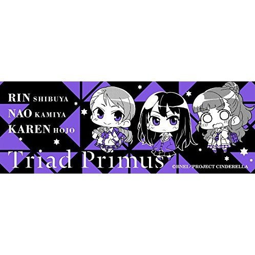 Minicchu The Idolm@ster Sports Towel: Triad Primus