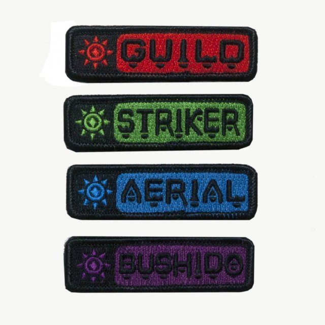 Monster Hunter X Patch: Hunting Style (Set of 4 pieces)