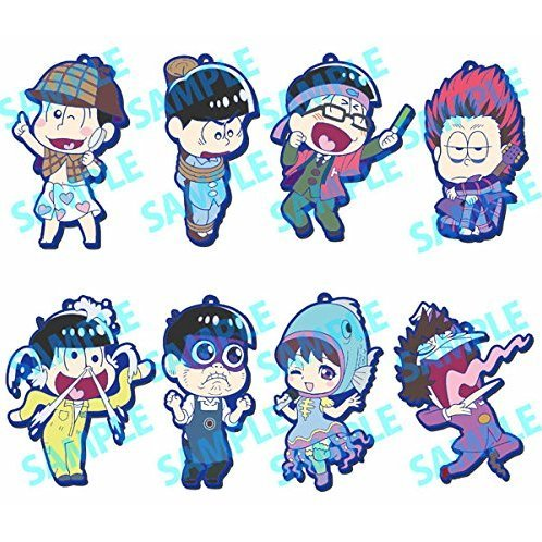 Toy's Works Collection Niitengomu! Osomatsu-san (Set of 8 pieces)