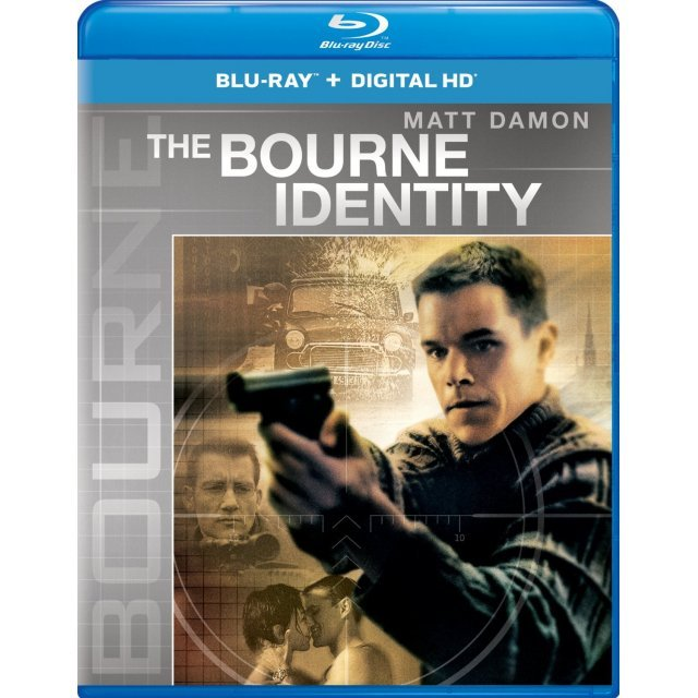 The Bourne Identity [Blu-ray+Digital HD]
