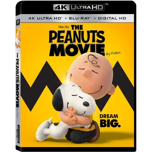The Peanuts Movie [4K UHD Blu-ray]