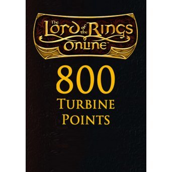 The Lord of the Rings Online: Turbine 800 Points