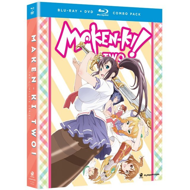 Maken-Ki: Season Two The Complete Series [Blu-ray+DVD]