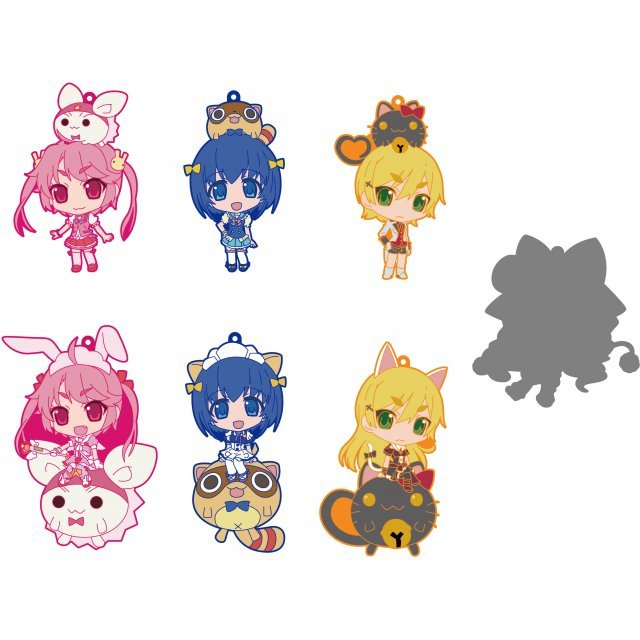 Nurse Witch Komugi-chan R CharaRide Rubber Strap (Set of 7 pieces)