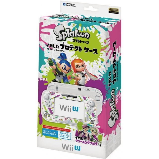 Splatoon Protect Case for Wii U Gamepad