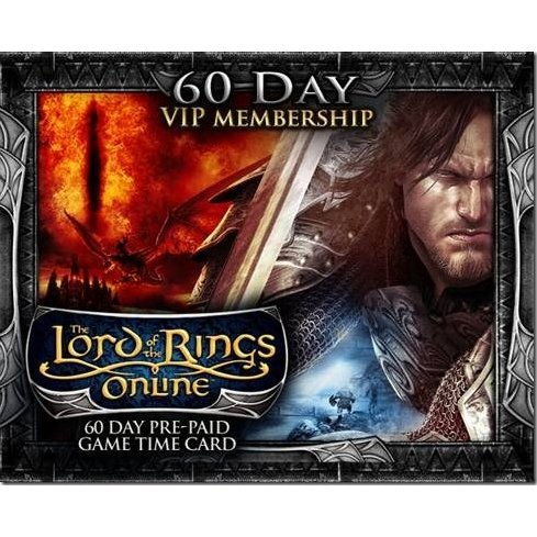 The Lord of the Rings Online Prepaid 60-Day Game Time Card