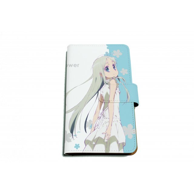 Anohana The Flower We Saw That Day Book Type Multi Size Case: 01 Honma Meiko
