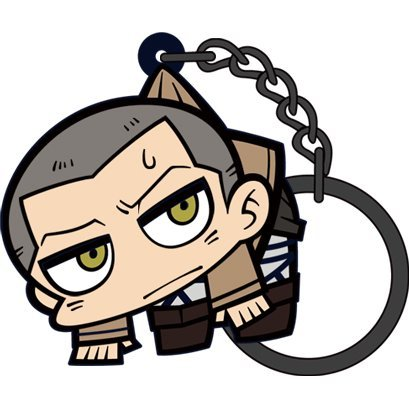 Attack on Titan Tsumamare Key Ring Ver. 2.0: Connie