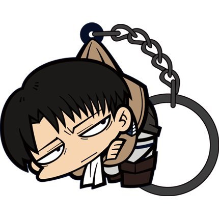 Attack on Titan Tsumamare Key Ring Ver. 2.0: Levi
