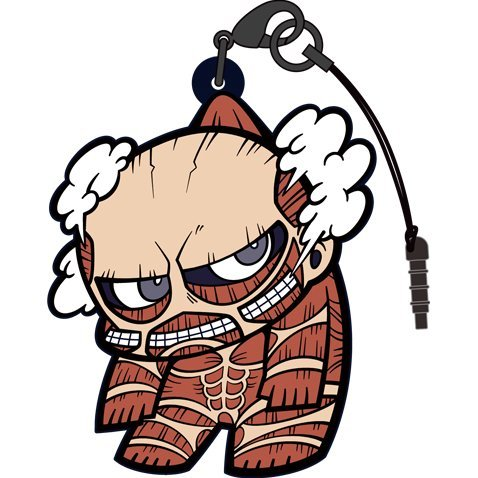 Attack on Titan Tsumamare Strap Ver. 2.0: Colossal Titan