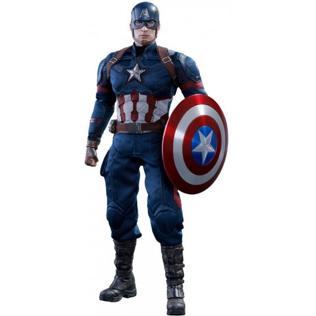 Captain America Civil War 1/6 Scale Collectible Figure: Captain America
