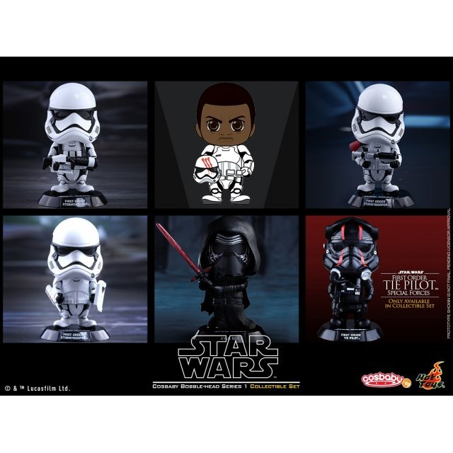 Cosbaby Star Wars: The Force Awakens Series 1 (Set of 6 pieces)