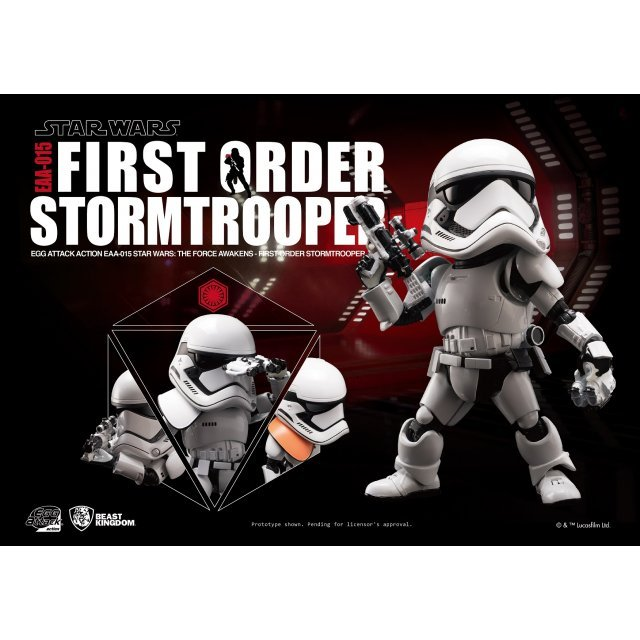 Egg Attack Star Wars The Force Awakens: First Order Stormtrooper