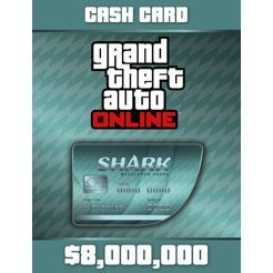 Grand Theft Auto V GTA: Megalodon Shark Cash Card