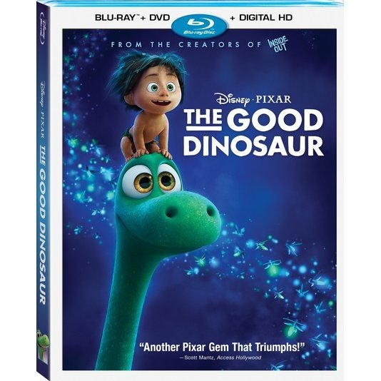 The Good Dinosaur [Blu-ray+DVD+Digital HD]