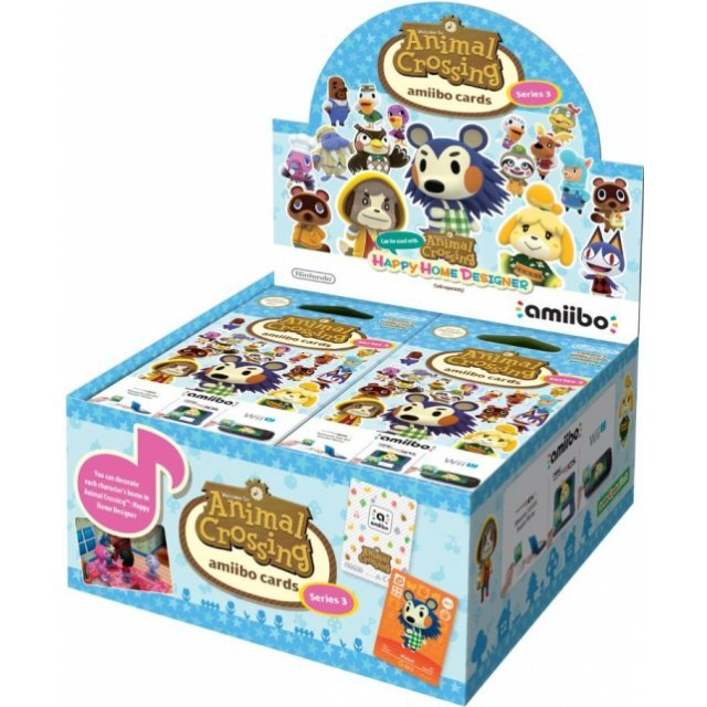Animal Crossing amiibo Card 42-Pack Series 3 [Boxset]