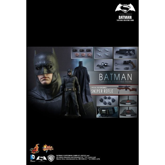 Batman v Superman Dawn of Justice 1/6 Scale Collectible Figure: Batman (Special Edition)