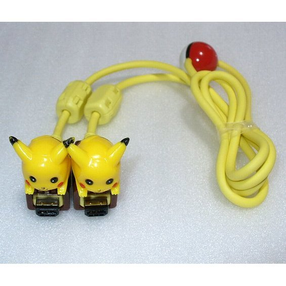 Game Boy Color Communication Cable (Pikachu)