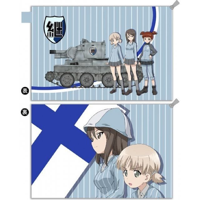 GIRLS und PANZER der Film Water-repellent Pouch: Keizoku High School