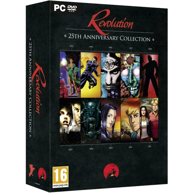 Revolution: 25th Anniversary Collection (DVD-ROM)