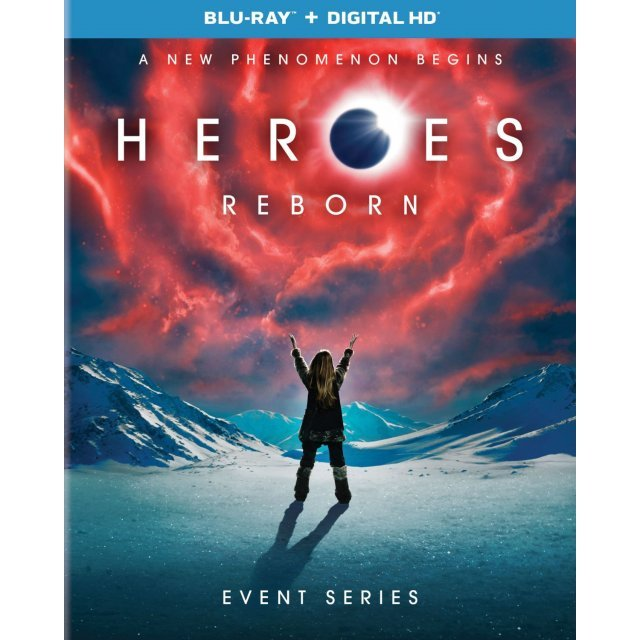 Heroes Reborn: Event Series [Blu-ray+Digital HD]