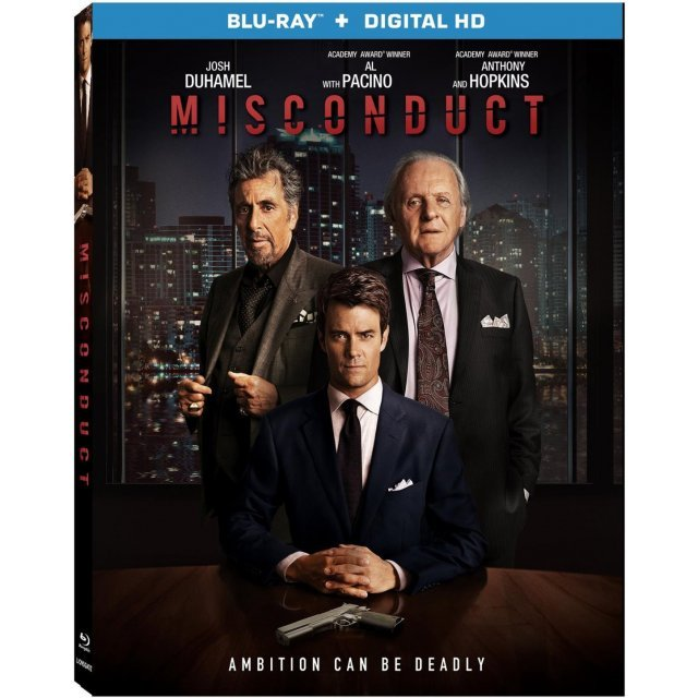 Misconduct [Blu-ray+Digital HD]