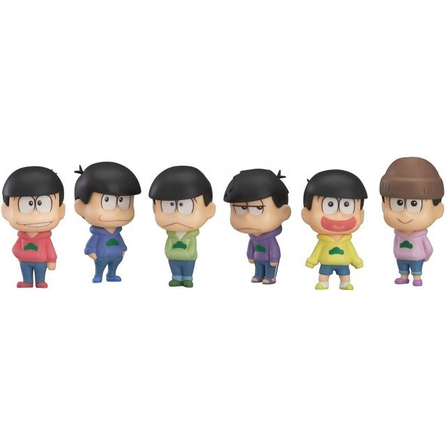 Osomatsu-san Trading Figure (Set of 6 pieces)